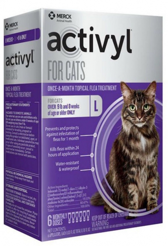 Activyl for Cats & Kittens 6 doses over 9 lbs (Purple) 1