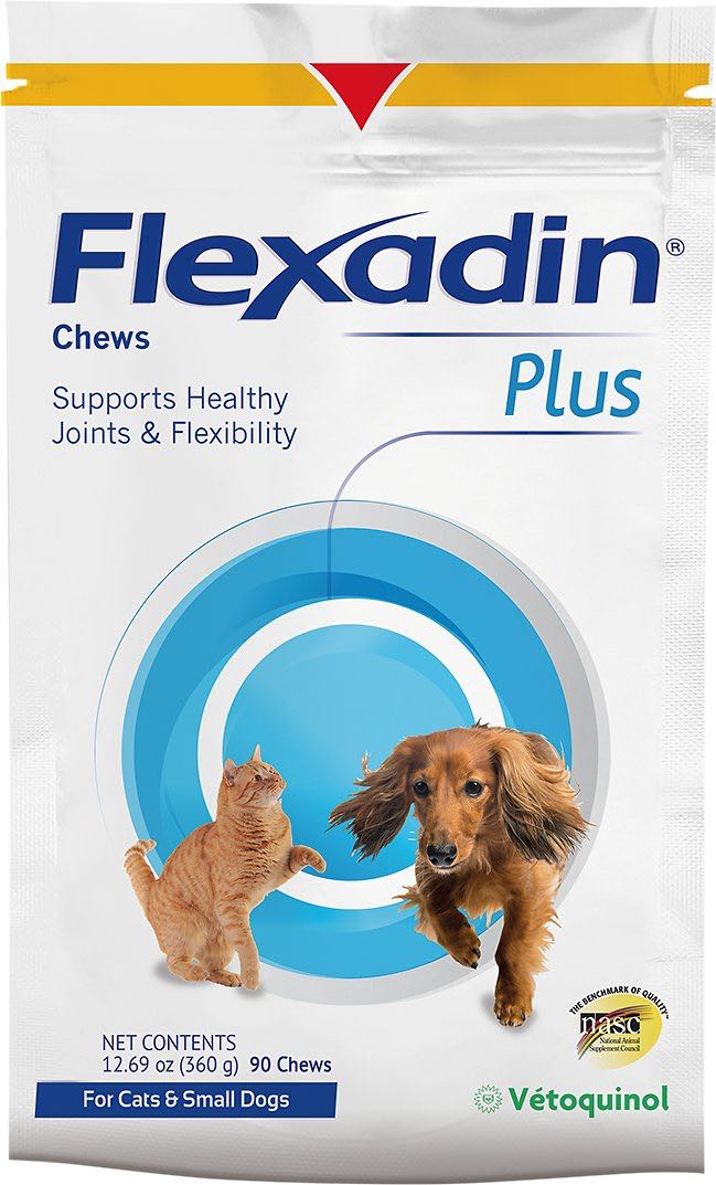 Flexadin Plus Chews 90 count for cats & small dogs 1