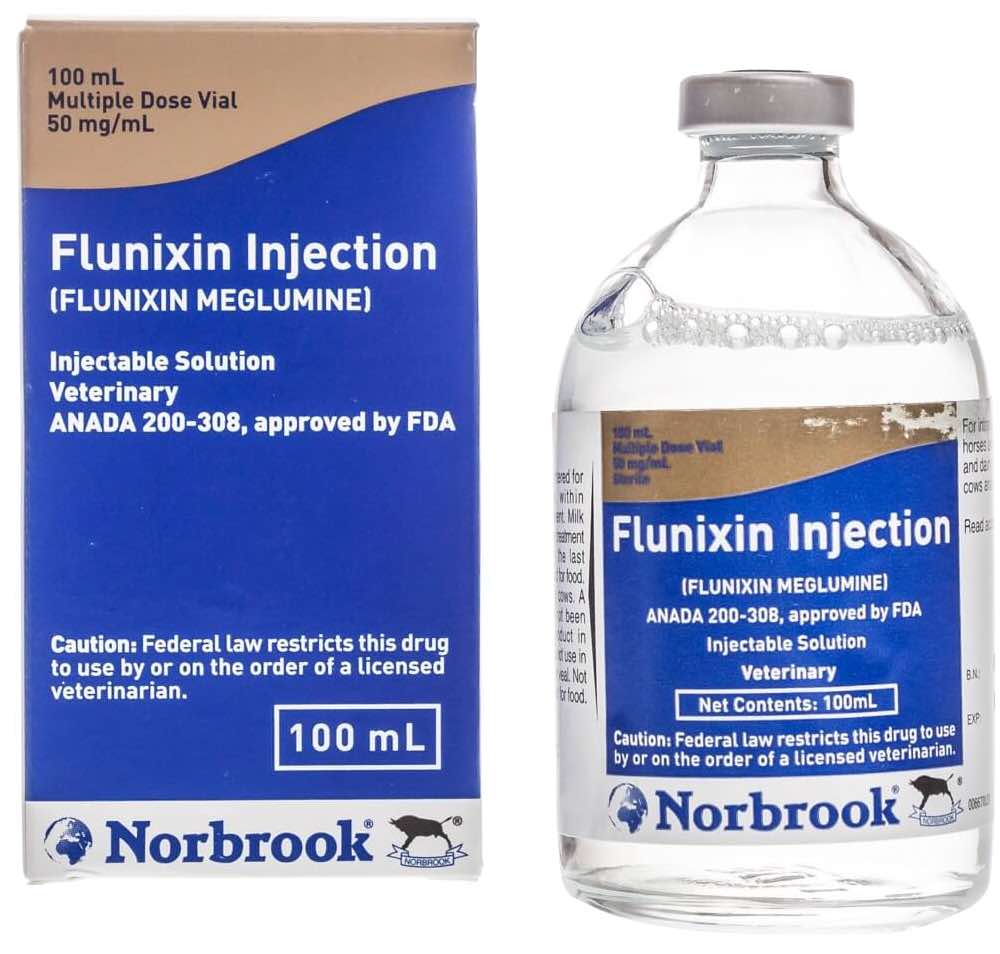 Flunixin Injection Solution 100 ml 1