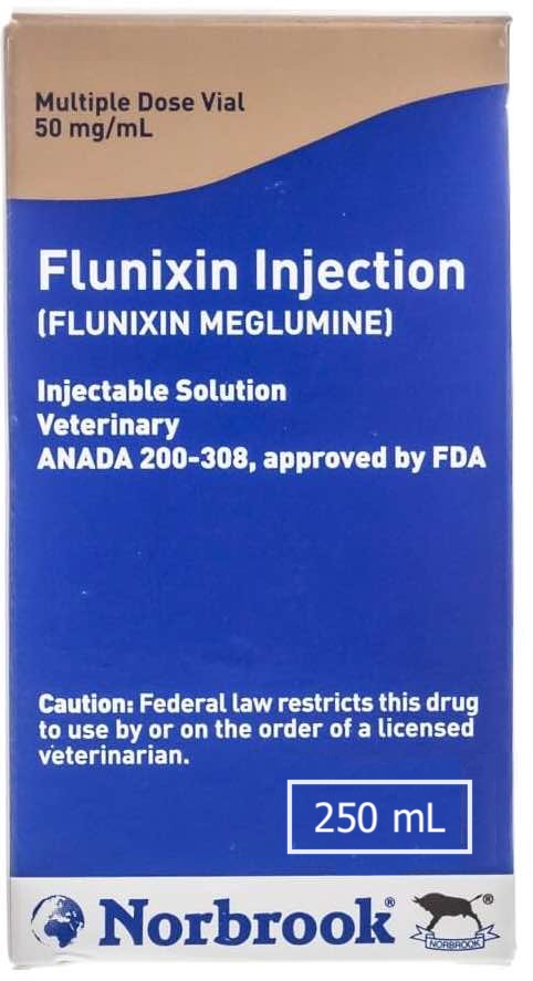 Flunixin Injection Solution 250 ml 1