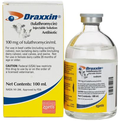 Draxxin Injectable Solution 100 ml 1