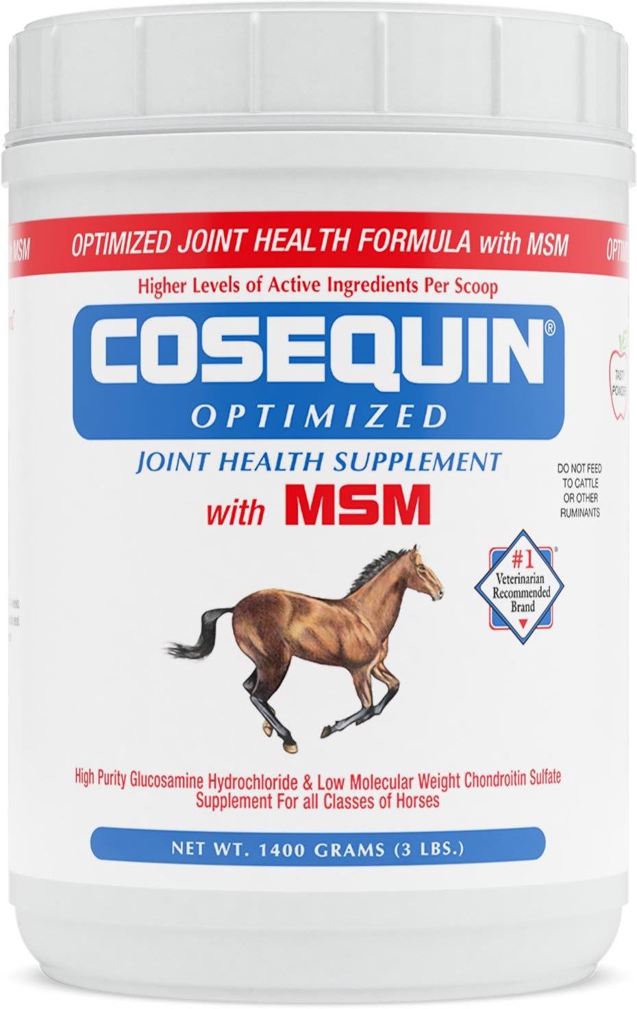 Cosequin Optimized with MSM Equine Powder 1400 g 1