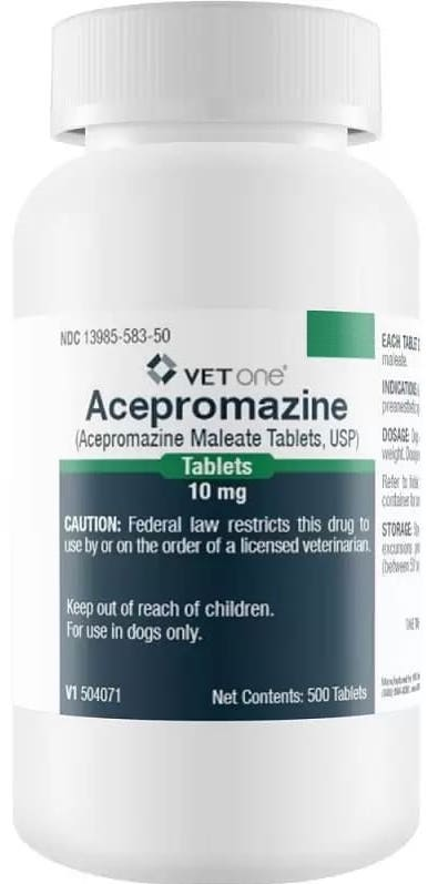 Acepromazine Tablets 10 mg 1 count 1
