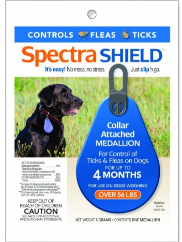 Spectra Shield 1 medallion for dogs over 56 lbs 1