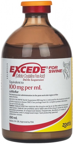 Excede for Swine 100 mg/ml 100 ml 1