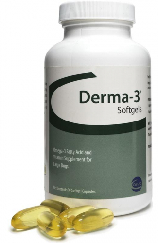 Derma-3 Softgels 60 capsules for large dogs 1