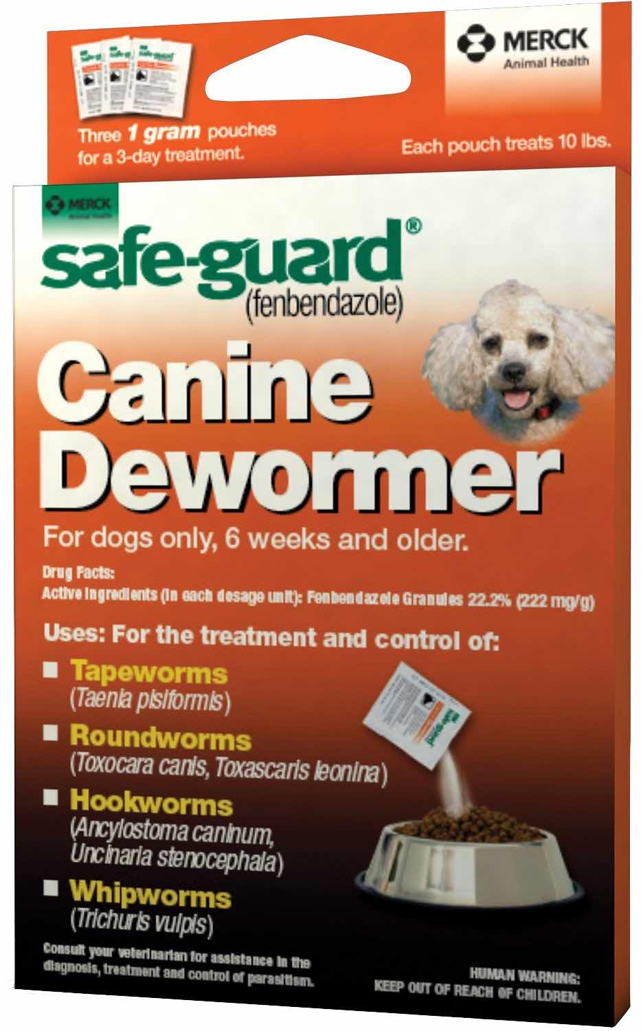 Safe-Guard Canine 1 g 3 pouches 1