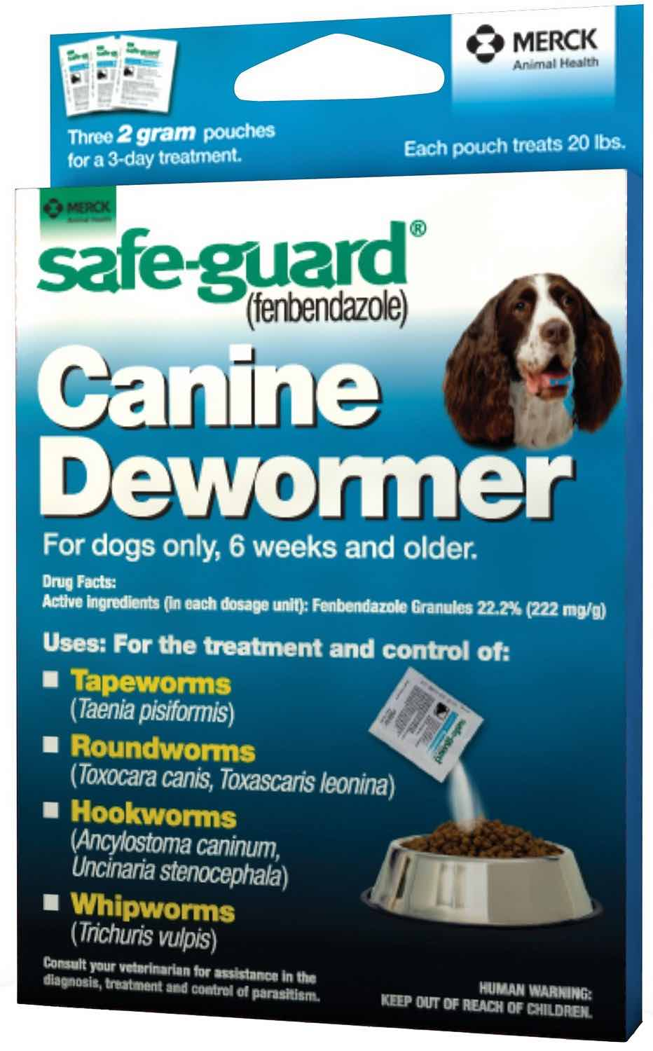 Safe-Guard Canine 2 g 3 pouches 1