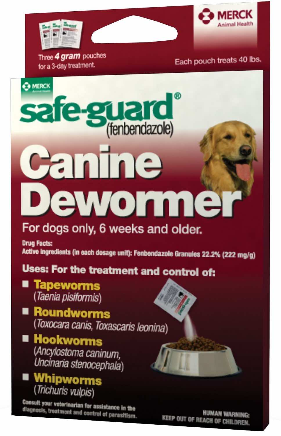 Safe-Guard Canine 4 g 3 pouches 1