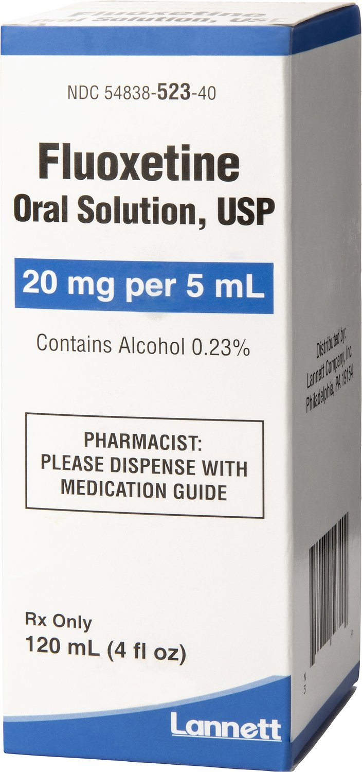 Fluoxetine Oral Solution 4 mg/ml 120 ml 1