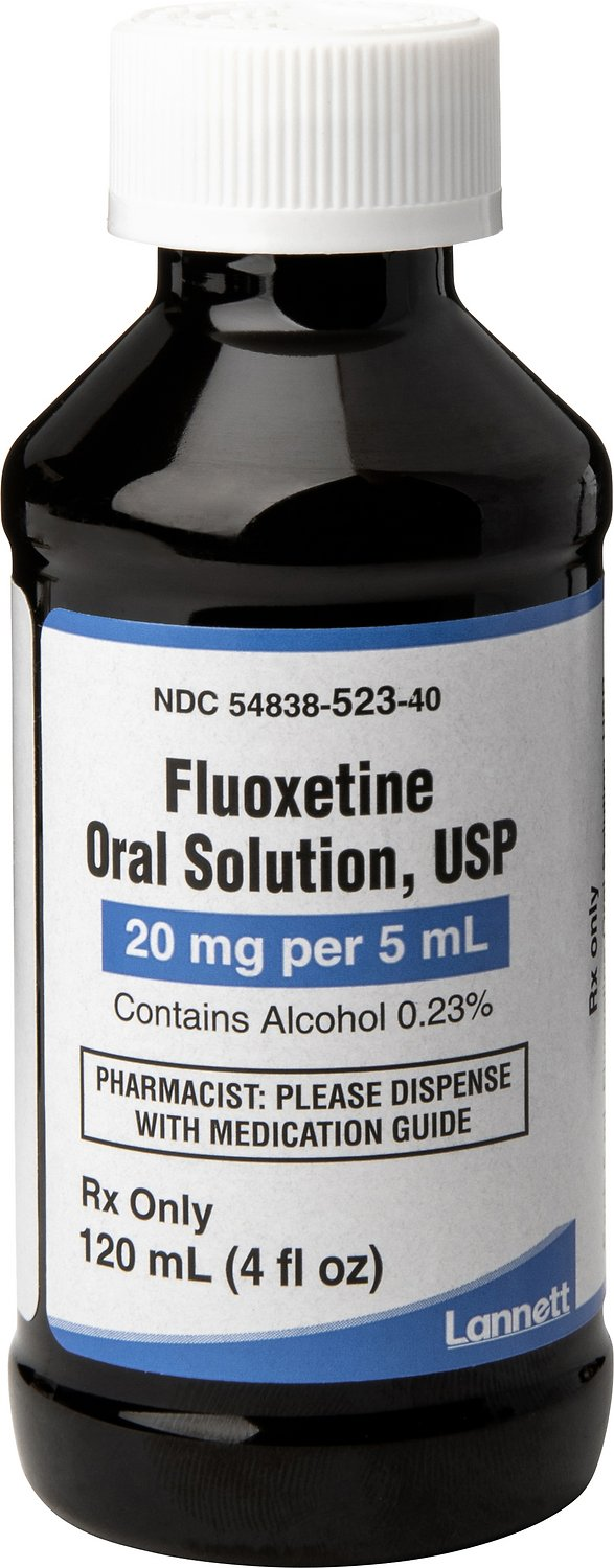 Fluoxetine Oral Solution 4 mg/ml 120 ml 2