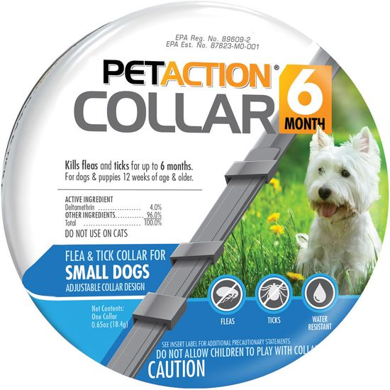 PetAction 6 Month Collar 1 count for medium dogs 1