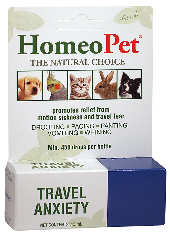 Homeopet Travel Anxiety 15 ml 1