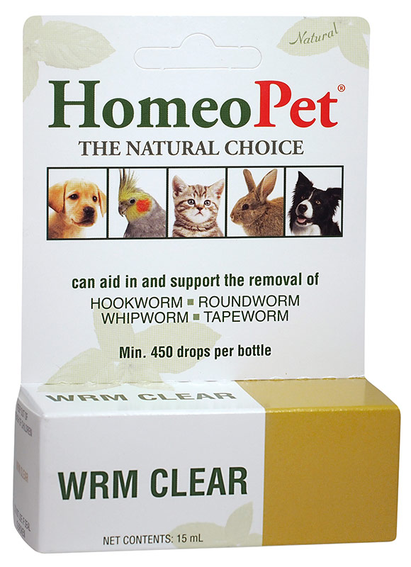 HomeoPet WRM Clear 15 ml 1