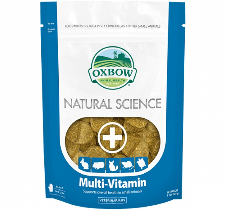 Oxbow Natural Science Multi-Vitamin 60 count 1