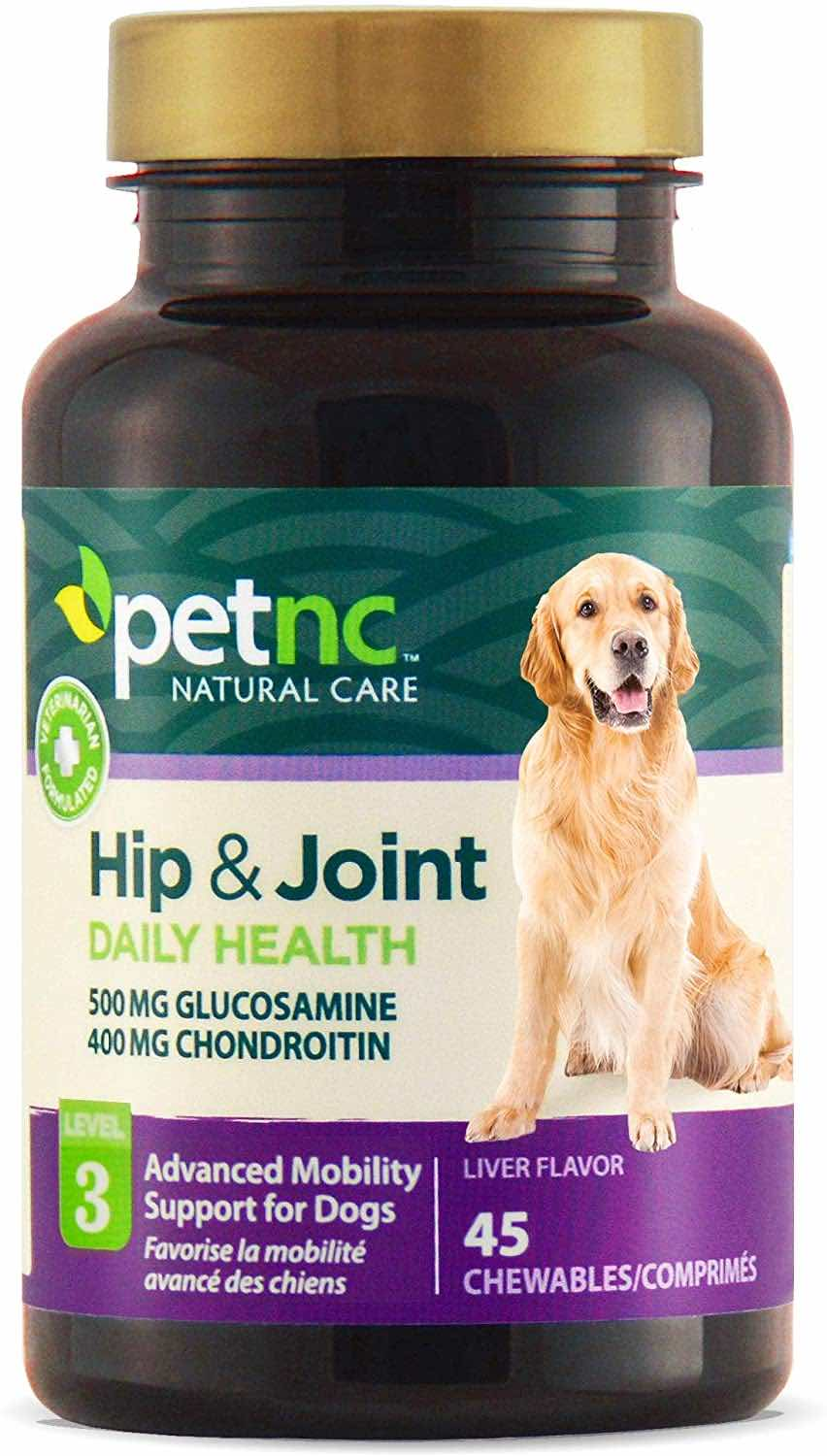 PetNC Hip & Joint Daily Health Level 3 Chewable Tablets 45 count 1