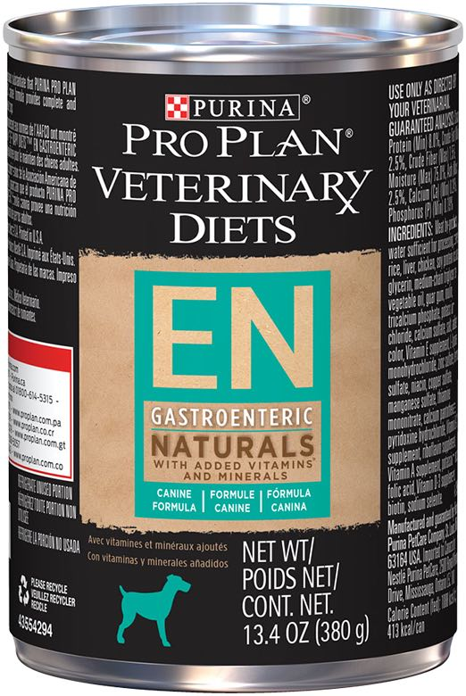 Purina Pro Plan Veterinary Diets EN Gastroenteric Naturals Canned Formula for Dogs 12 x 13.4 oz can 1