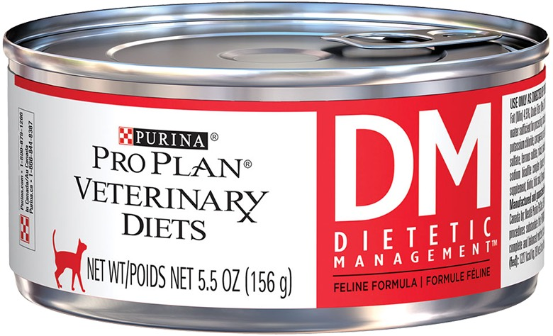 Purina Pro Plan Veterinary Diets DM Dietetic Management Canned Formula 24 x 5.5 oz can 1