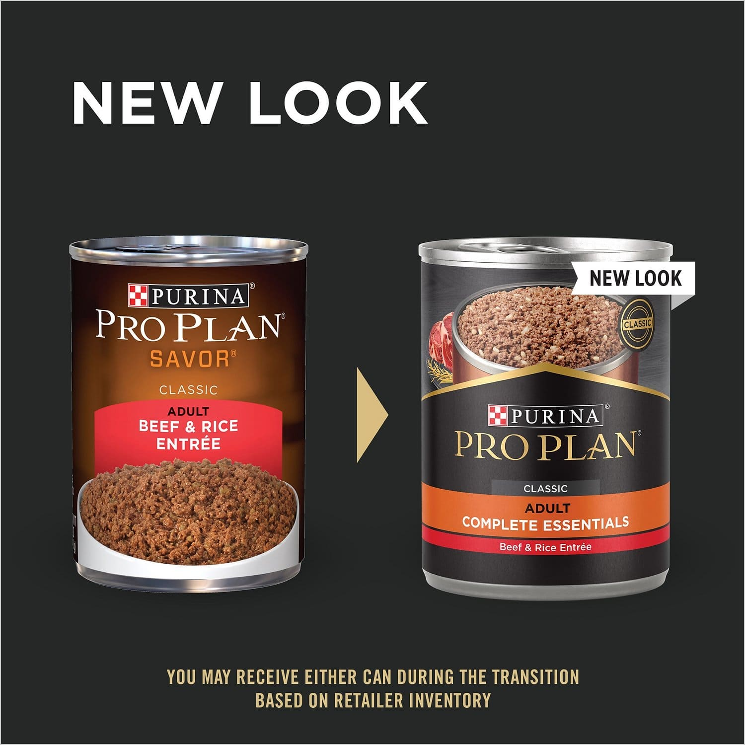 Purina Pro Plan Adult Complete Essentials Entrée 12 x 13 oz can Beef & Rice 2