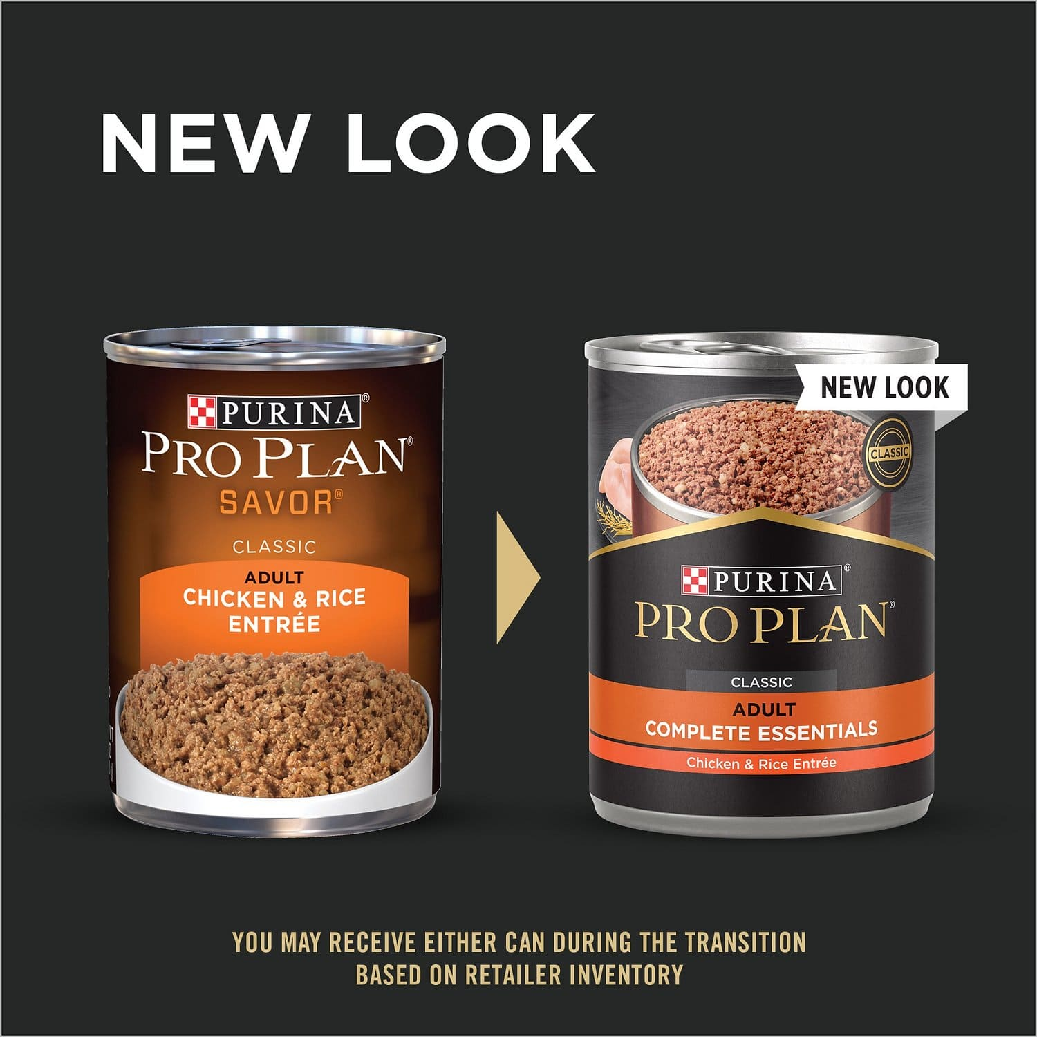 Purina Pro Plan Adult Complete Essentials Entrée 12 x 13 oz can Chicken & Rice 2