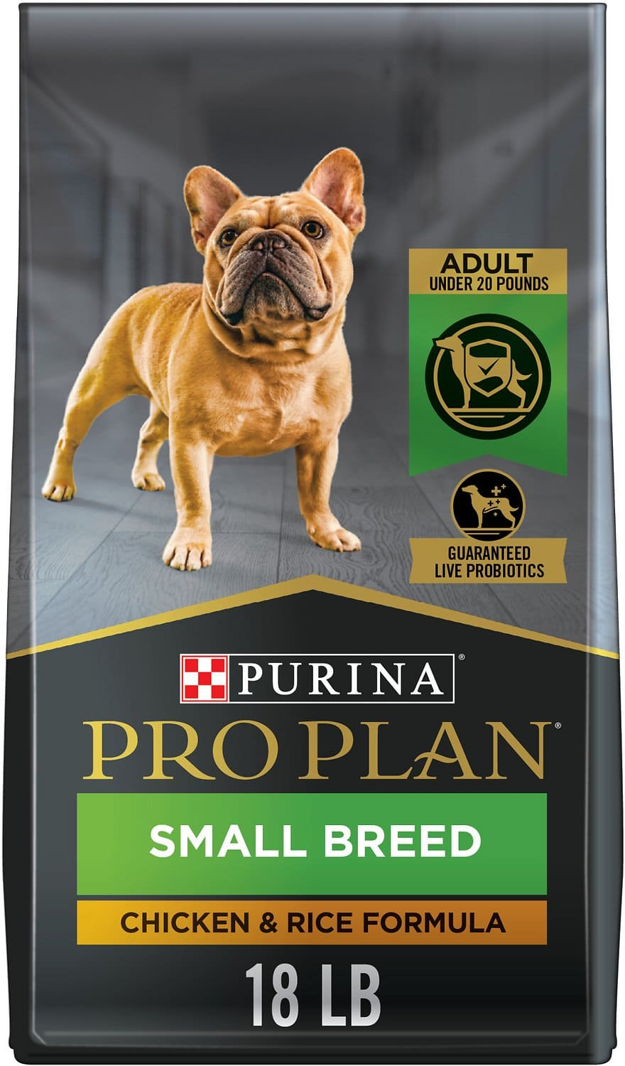 Purina Pro Plan Adult Small Breed 18 lbs Chicken & Rice 1