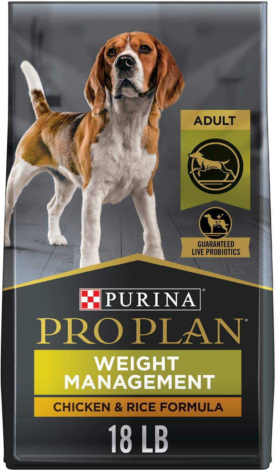 Purina Pro Plan Adult Weight Management Formula for Dogs 18 lbs Chicken & Rice 1