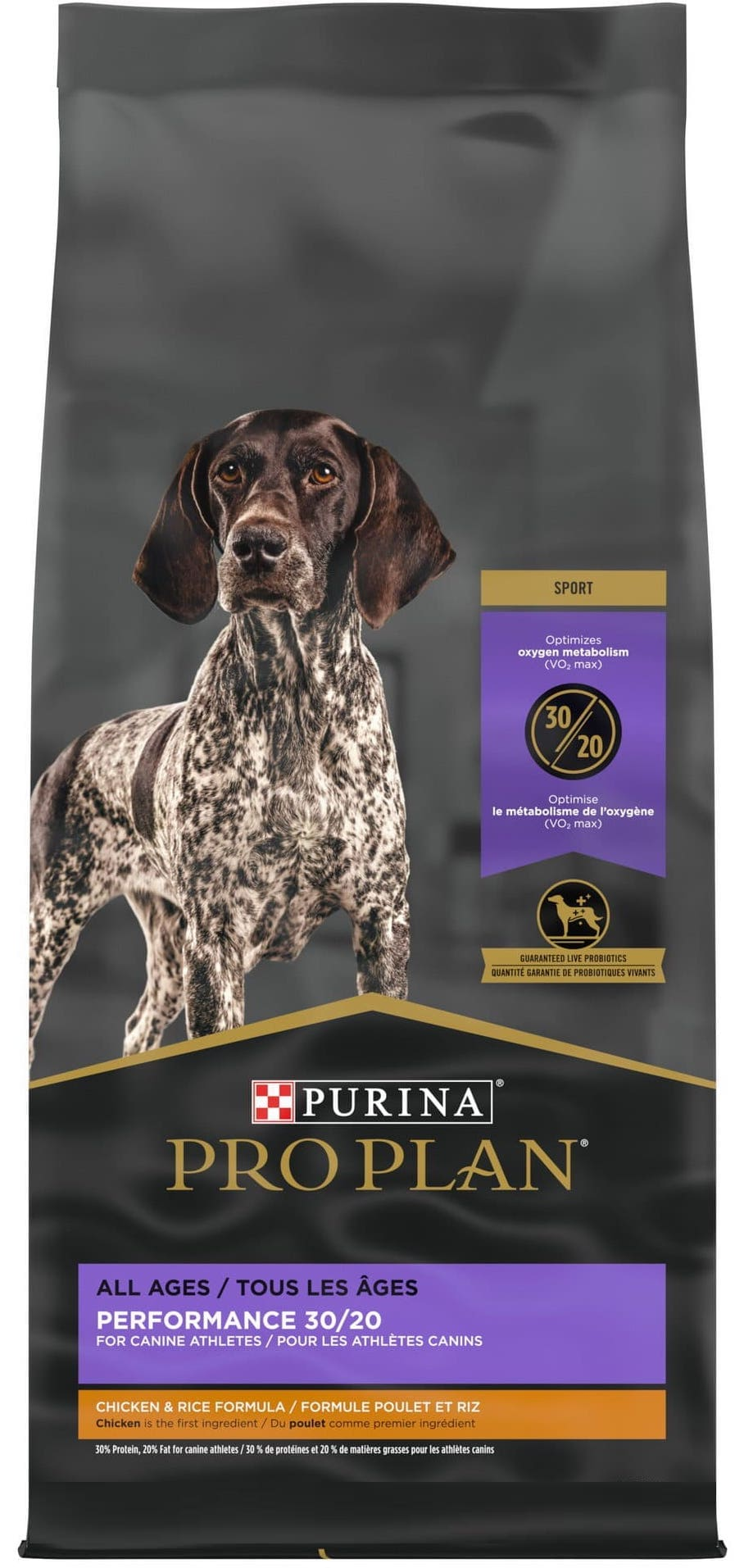 Purina Pro Plan Sport All Life Stages Performance 30/20 48 lbs Chicken & Rice 1