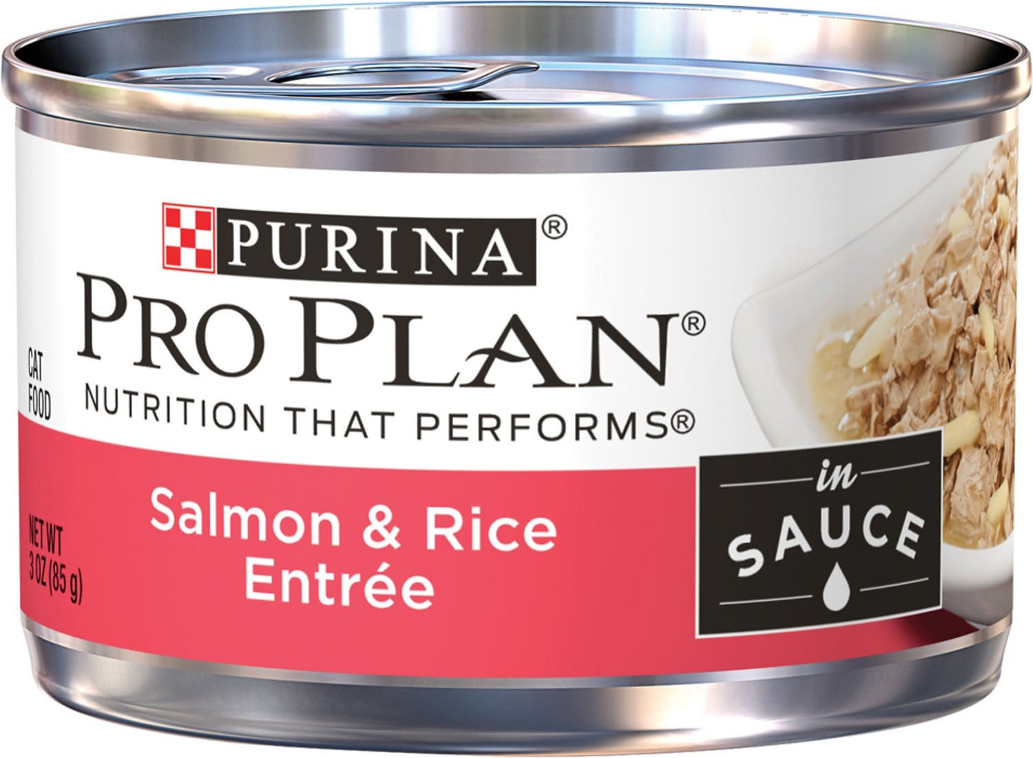 Purina Pro Plan Complete Essentials Entree in Sauce 24 x 3 oz can Salmon & Rice 1