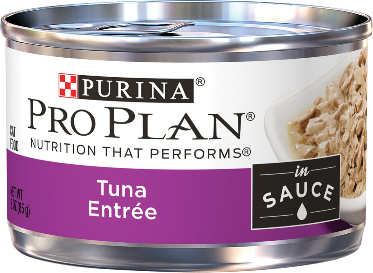 Purina Pro Plan Complete Essentials Entree in Sauce 24 x 3 oz can Tuna 1