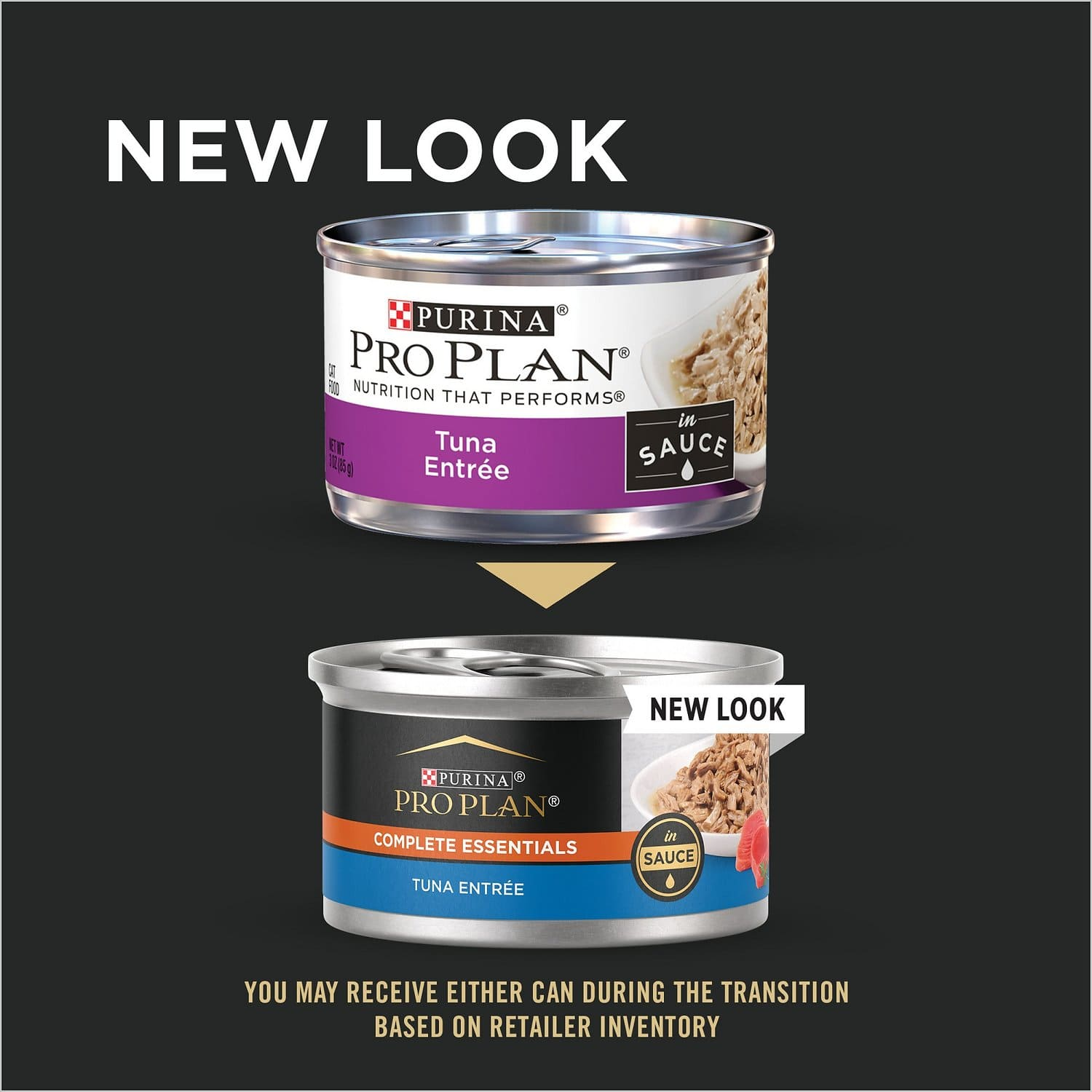 Purina Pro Plan Complete Essentials Entree in Sauce 24 x 3 oz can Tuna 2