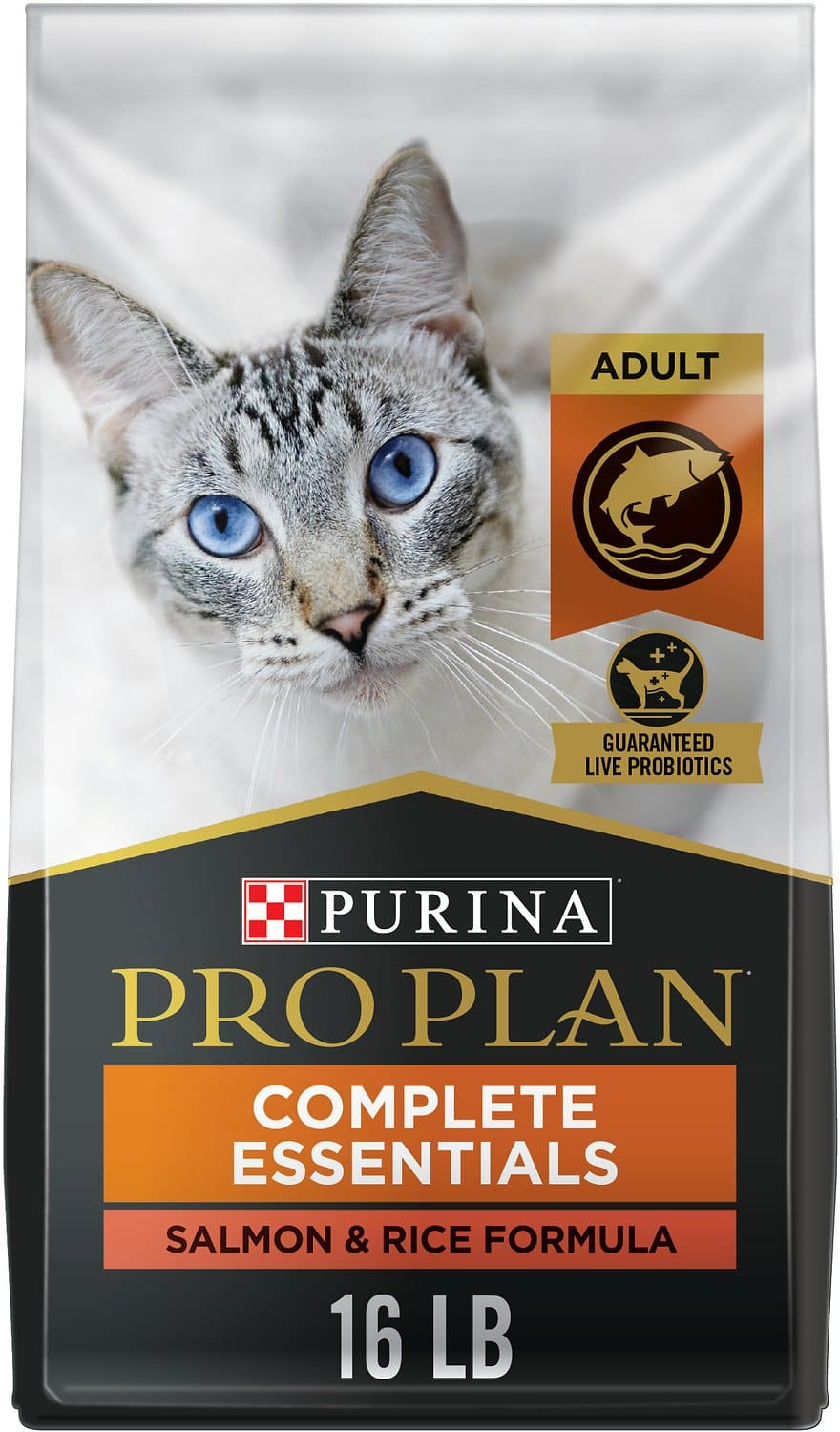 Purina Pro Plan Adult Complete Essentials  16 lbs Salmon & Rice 1