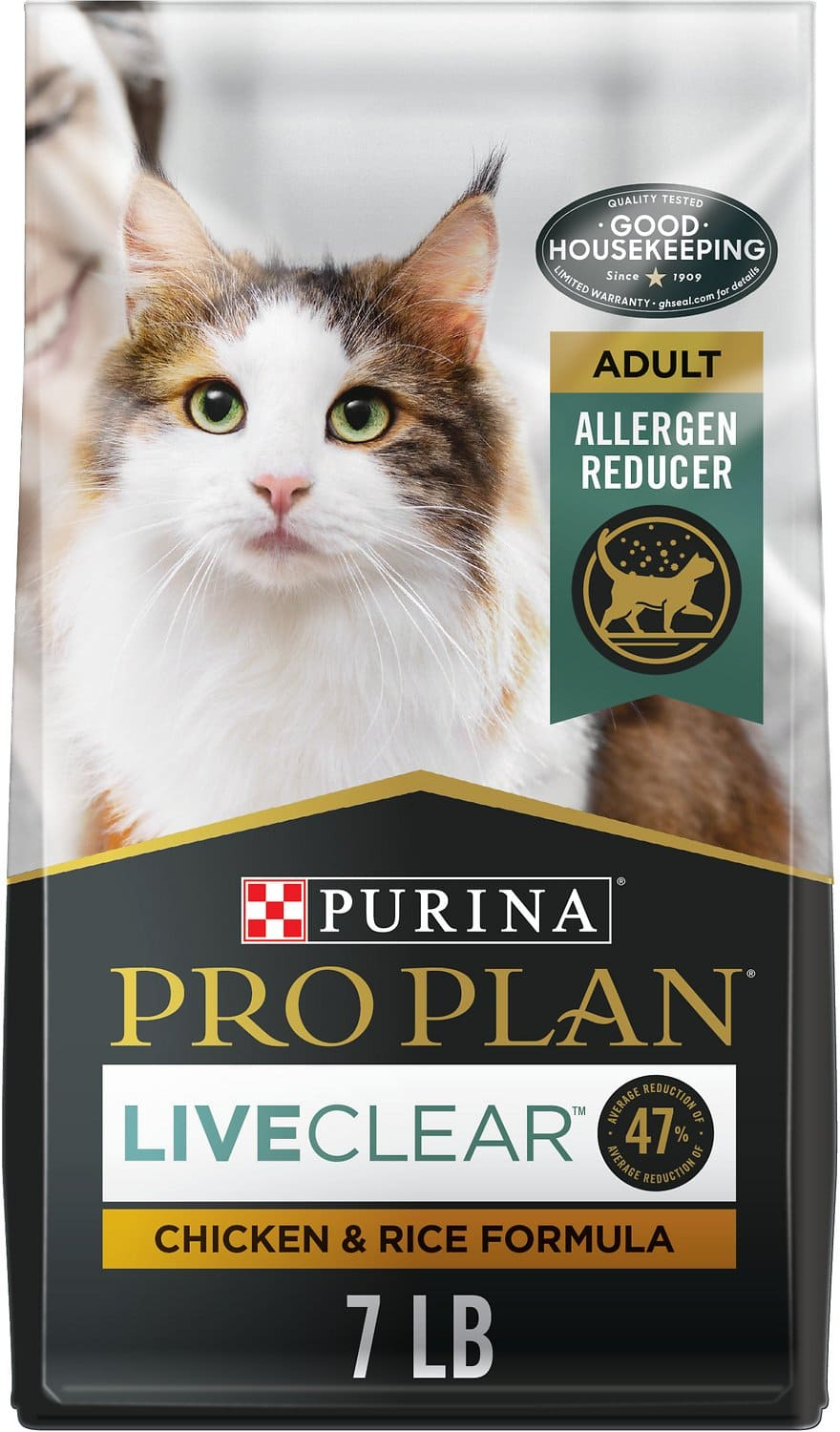 Purina Pro Plan Adult LiveClear  7 lbs Chicken & Rice 1