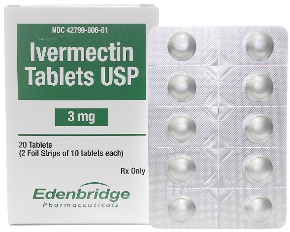 Ivermectin Tablets 3 mg 20 count 1