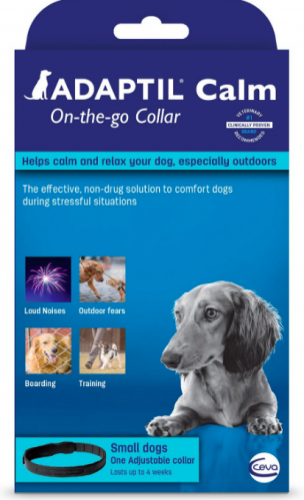Adaptil Calm On-the-Go Collar for puppies and small dogs 17.7 inches 1