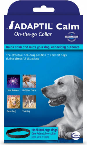 Adaptil Calm On-the-Go Collar for medium and large dogs 27.6 inches 1