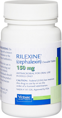 Rilexine 150 mg 100 chewable tablets 1