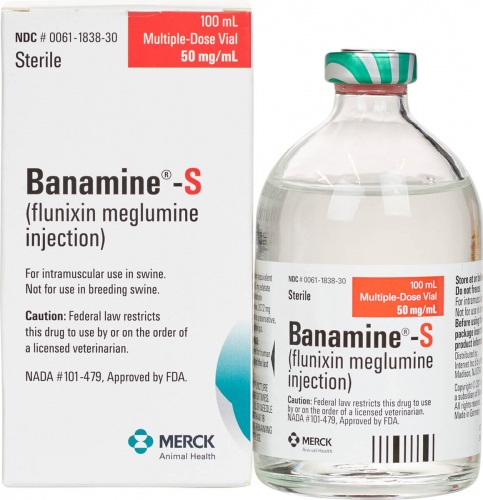 Banamine-S Injectable Solution 100 ml 1